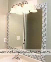Mosaic Bathroom Mirror Decorative Border Tile Foter