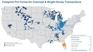 Time Warner Cable Service Area Map Awesome Comcast Coverage Map Cashin60seconds Info