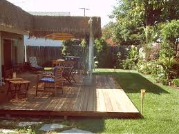 themed patio themed backyard for the home backyard