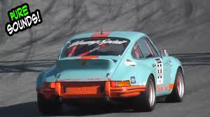 gulf racing wallpaper historic porsche 911 carrera sound 911 rs 3 0 flat 6 youtube