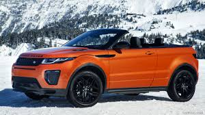 hse land rover 2017 2017 range rover evoque convertible hse color phoenix orange in