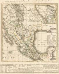 German States Map 1824 German Map Of Mexico With New Listing Of Mexican States