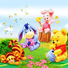 baby winnie the pooh characters clipart 71