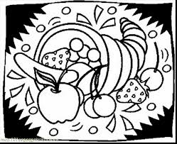 incredible thanksgiving cornucopia coloring pages printables with