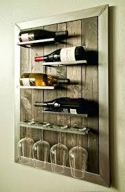 wine rack decorative wall wine glass rack wall mounted wine rack