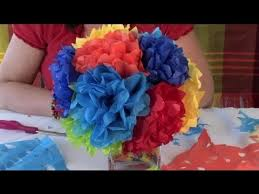 How To Make Mexican Paper Flowers - how to create decorations made out of paper festive decorations