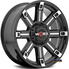 Off Road Wheel And Tire Packages Worx Alloy Off Road 806bm Triton Rims And Tires Packages Worx