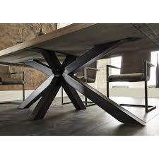 eiche tisch massiv esstisch eiche tischplatte tisch massiv eiche industriedesign