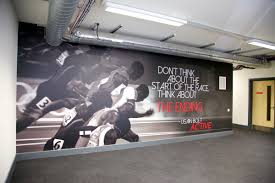 Garage Office www vinylimpression co uk awesome wall mural a great quote to