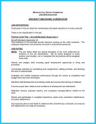 Supervisor Job Description For Resume by Download Auto Technician Job Description Haadyaooverbayresort Com