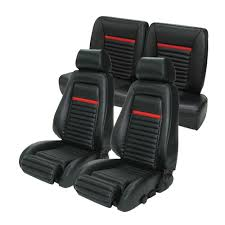 Upholstery Parts Mustang Tmi Upholstery Mach 1 Style Sport High Back Seats 1987