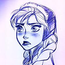 frozen images walt disney sketches princess anna wallpaper and