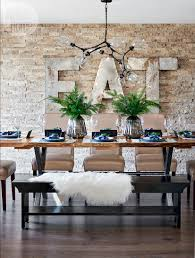 rustic design a home s modern rustic design is complemented with greenery and