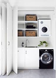 laundry in bathroom ideas white closet laundry la molina otros white closet