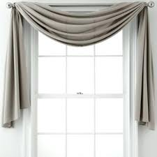Window Treatment Valance Ideas Window Treatments With Scarves Royal Ally Window Scarf Valance