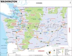 state map washington map map of washington u s state wa map