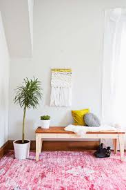 Diy Ikea Nornas by Woven Leather Bench Diy U2013 A Beautiful Mess