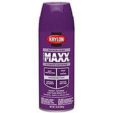 purple paint amazon com krylon 51913 purple interior and exterior decorator
