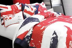 Blue Union Jack Cushion Union Jack By Alamode Home Beddingsuperstore Com