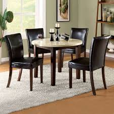 Dining Room Round Granite Dining Table On Dining Room For Cool - Granite dining room table