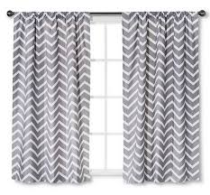 Gray Chevron Curtains Decorating Breathtaking Curtains At Target With Best Quality And