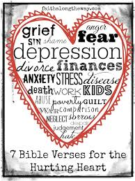 Comforting Bible Verses For Funerals 7 Bible Verses For The Hurting Heart Bible Peace And Tough Times