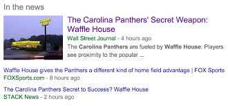 breaking there are panthers players who eat at waffle house