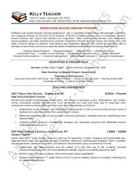New Teacher Resume Examples by Sample Resumes For Teachers 8 Elementary Teacher Resume Sample