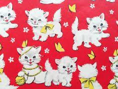cat wrapping paper vintage cat wrapping paper vintage wrapping paper
