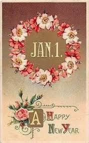 new year post cards heartfelt vintage home beautiful era new year s postcards
