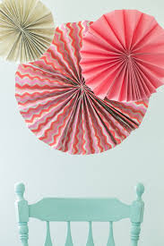 diy paper fans diy party fans sugar and charm sweet recipes
