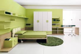 Brown And Sage Green Room Idea Excotic Relaxing Bedroom Design With Dark Wood Floating Beds And