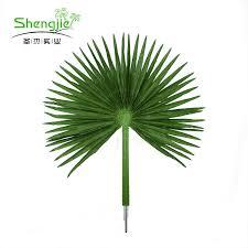top quality custom silk artificial indoor big green palm tree