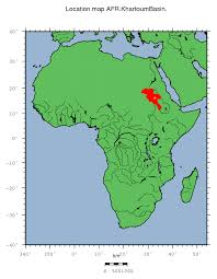 africa map khartoum afr khartoum basin