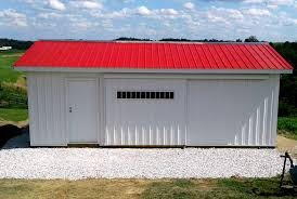 Red Barn Kennel Pre Fab Barn Building