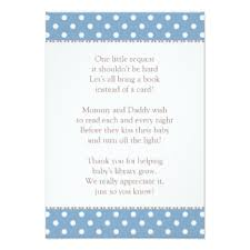 Bring Book Instead Of Card To Baby Shower Library Invitations U0026 Announcements Zazzle