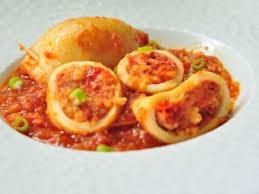 cuisine portugaise calamars farcis à la portugaise recette ptitchef