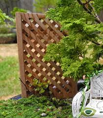 Cedar Trellises August 2014 The Mini Garden Guru From Twogreenthumbs Com