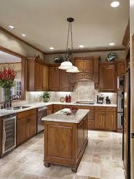 Tile Kitchen Floor Ideas Kitchen Floor Ideas For Oak Cabinets 2 Kitchen Design