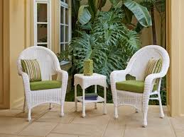 White Resin Wicker Loveseat Dining Room The Most White Wicker Loveseat Lanai Style Traditional