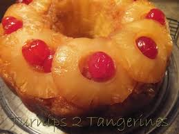 pineapple upside down bundt cake turnips 2 tangerines