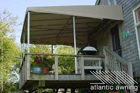Deck Canopy Awning Stationary Free Standing Patio U0026 Deck Awnings Atlantic Awning
