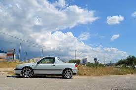 subaru pickup conversion one off volkswagen golf gti mk3 pickup ran when parked