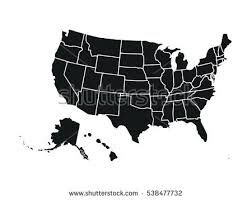 usa map states vector united states map vector free vector stock