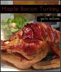 maple bacon thanksgiving turkey oh my eat play more