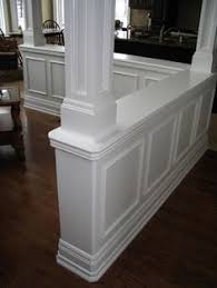 Pillar Designs For Home Interiors by Kitchen Islands With Pillars Kitchens With Columns Design Ideas