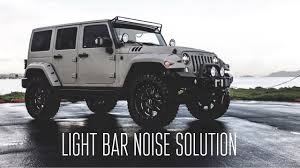 jeep light bar light bar noise fix a step by step pictorial youtube