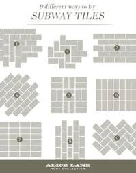 Kitchen Backsplash Tile Ideas by Subway Tile Pattern Samples Blog Article On Gorgeous Subway
