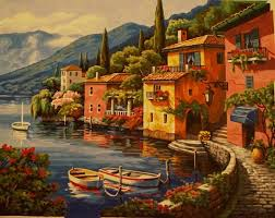paint by number lakeside village youtube