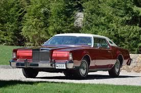 Lincoln Continental Price Collectible Classic 1972 1976 Lincoln Continental Mark Iv